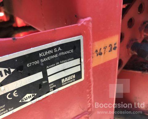 Kuhn Aero 2218 pneumatic fertiliser spreader