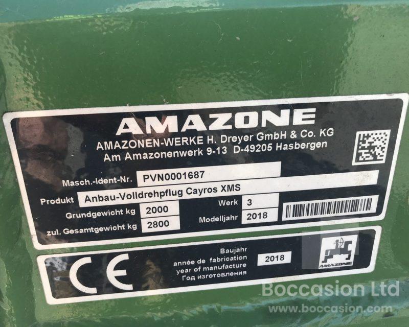 Amazone Cayros XMS 4+1