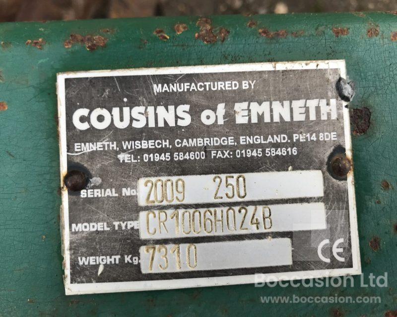 """Cousins Contour 10.2 Cambridge rolls 24"""""""