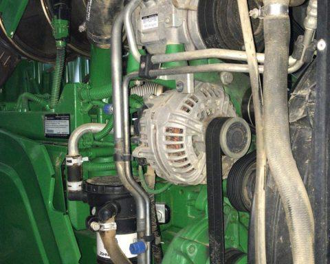 John Deere 6210R Auto-Quad 40km'h.