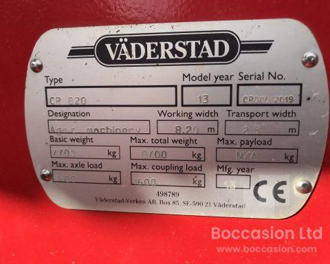 Vaderstad Carrier CR 820