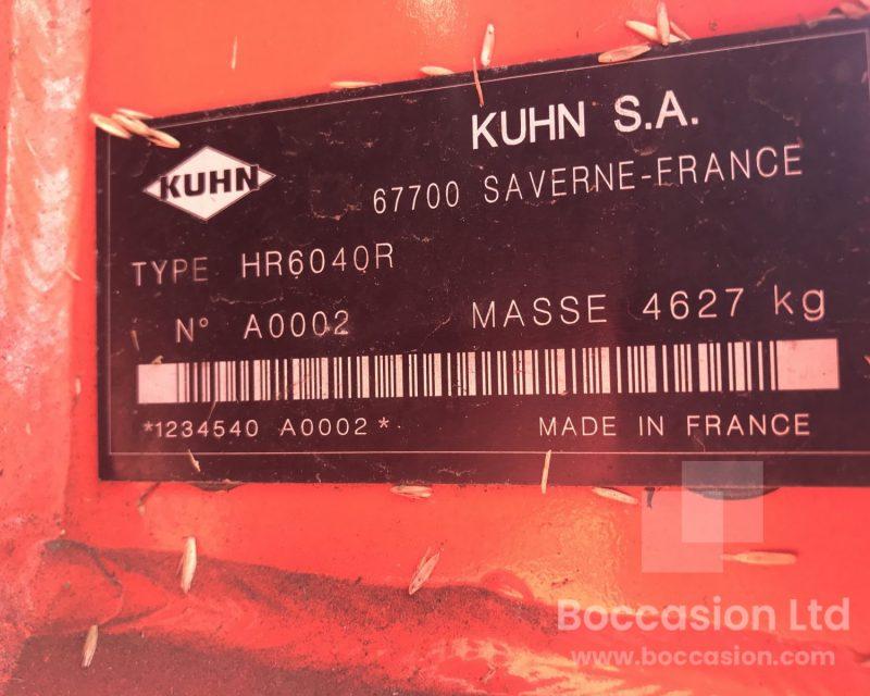 Kuhn HR6040