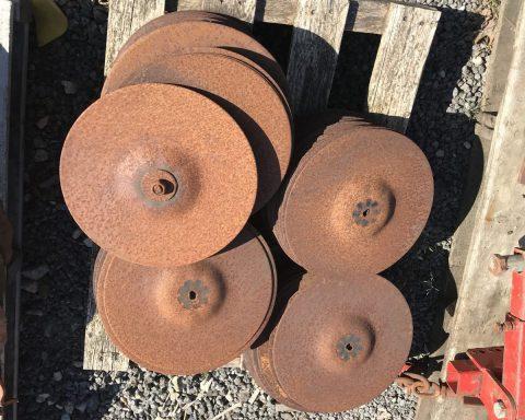 JOHN DEERE 740A discs
