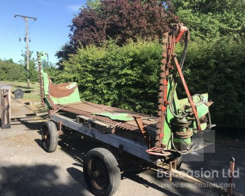 Deutz Farh 4.15m rape extension header.