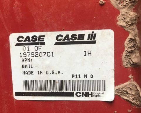 case ih 1979207c1 sieve rail