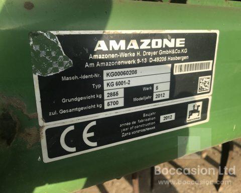 Amazone KG 6001-2