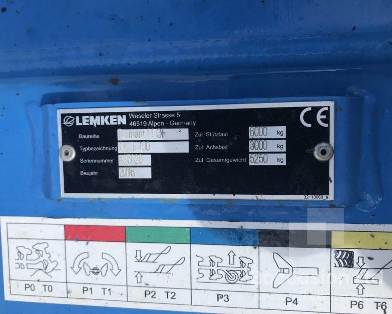 Lemken Diamant 11 7+1