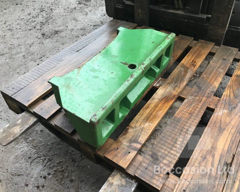 John Deere front weight block for 6000 series