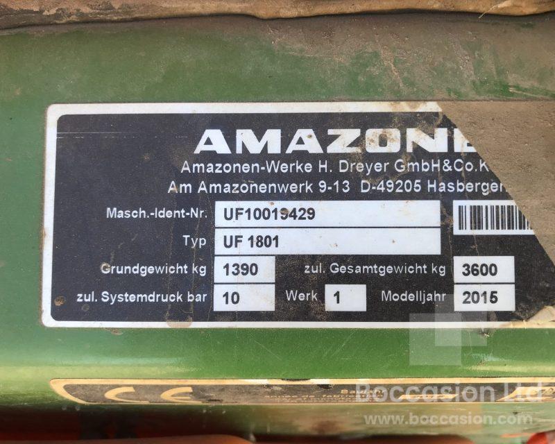 Amazone UF 1801& FT 1001