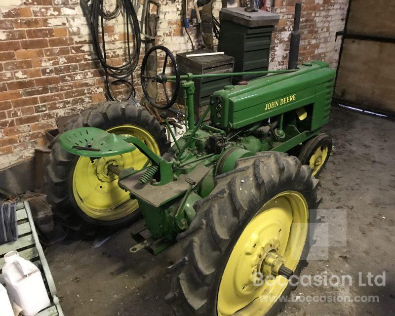 John Deere model H row crop
