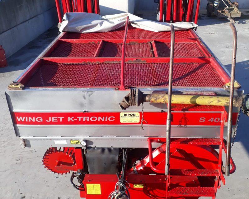 Kongskilde Wing Jet 4024S K-Tronic.