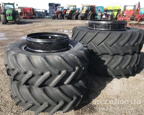 StocksAG 520/85R46 dual wheels