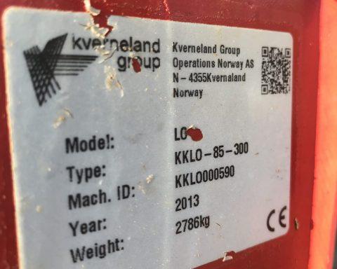 Kverneland LO 85/300 6+1 PLOUGH
