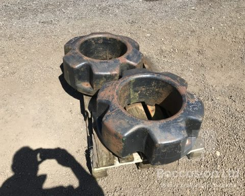 Case Ih Magnum 454kgs Wheel Weights