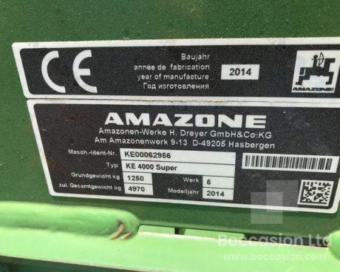 Amazone Ke 4000 Super