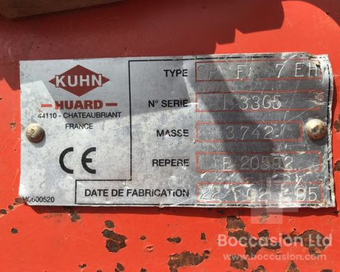 Kuhn 6+1 Manager SFP 7EH