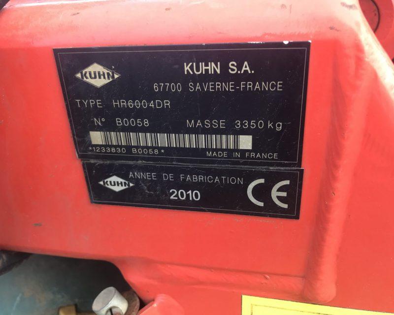 Kuhn HR6004DR