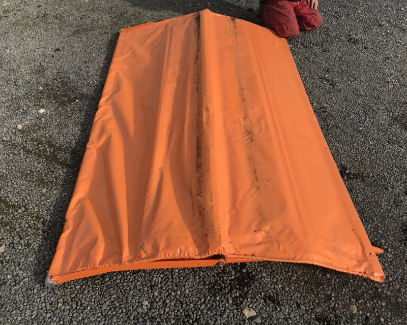 Amazone roll over sheet kit for ZA-M