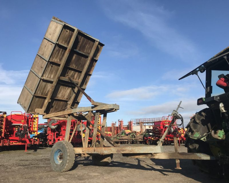 Scaling 3,5 tonnes high-lift