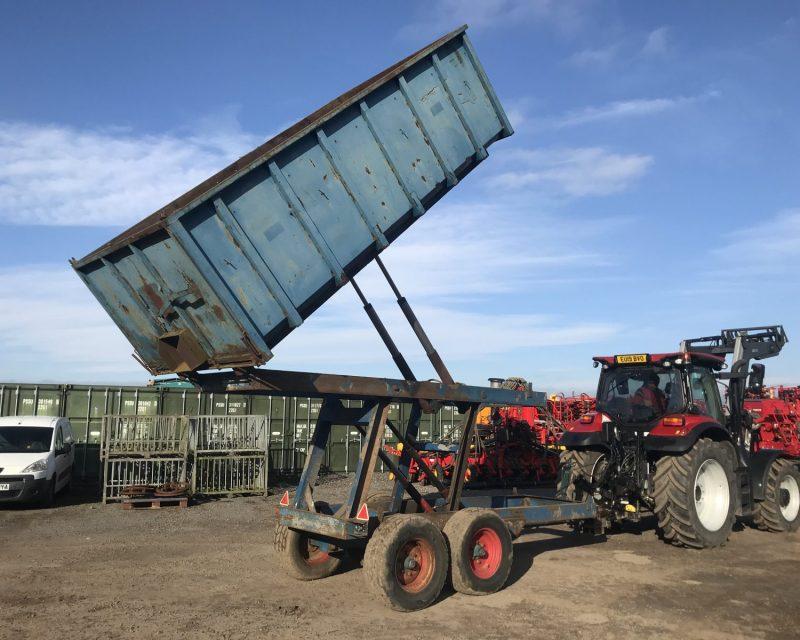 Scaling 7 tonnes high lift