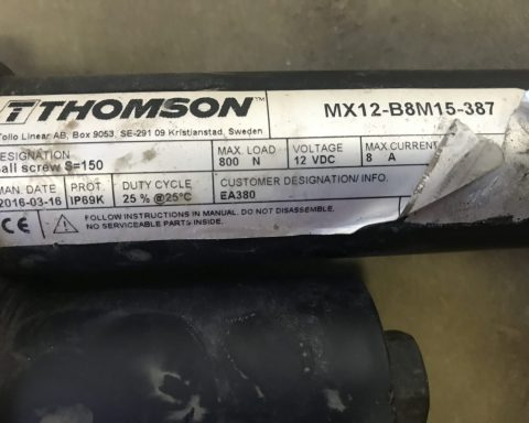 Thomson Mx12-B8M15-387