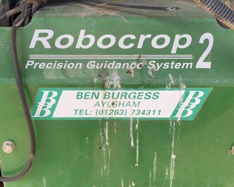 Garford Robocrop2 12 rows beet hoe