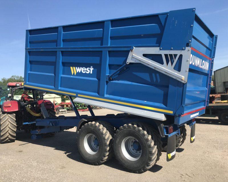 West 16 tonnes trailer