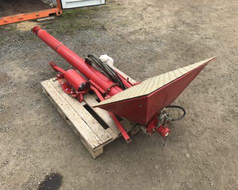 Vaderstad loading seed auger.