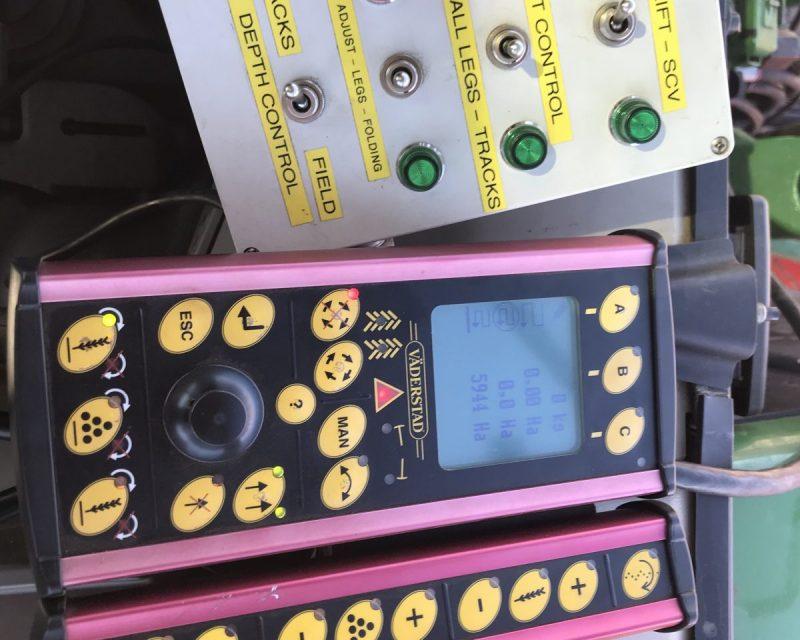 Vaderstad Rapid Rda 400S Rapid lift