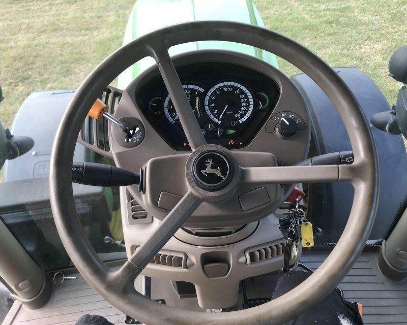 John Deere 6190R auto quad 50km'h