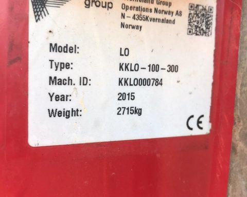 Kverneland LO 100 Variomat 5+1