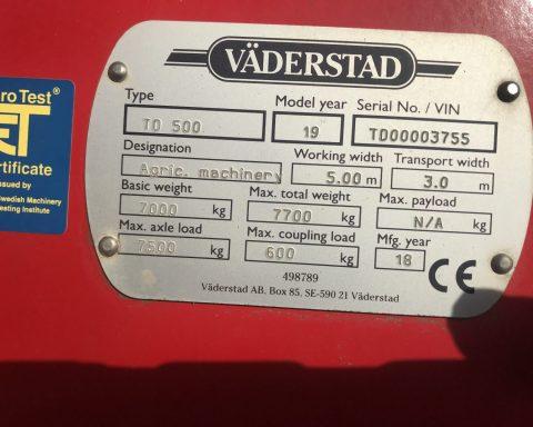 Vaderstad TopDown TD 500