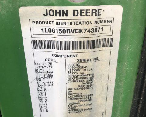 John Deere 6150R Auto quad 40km'h.