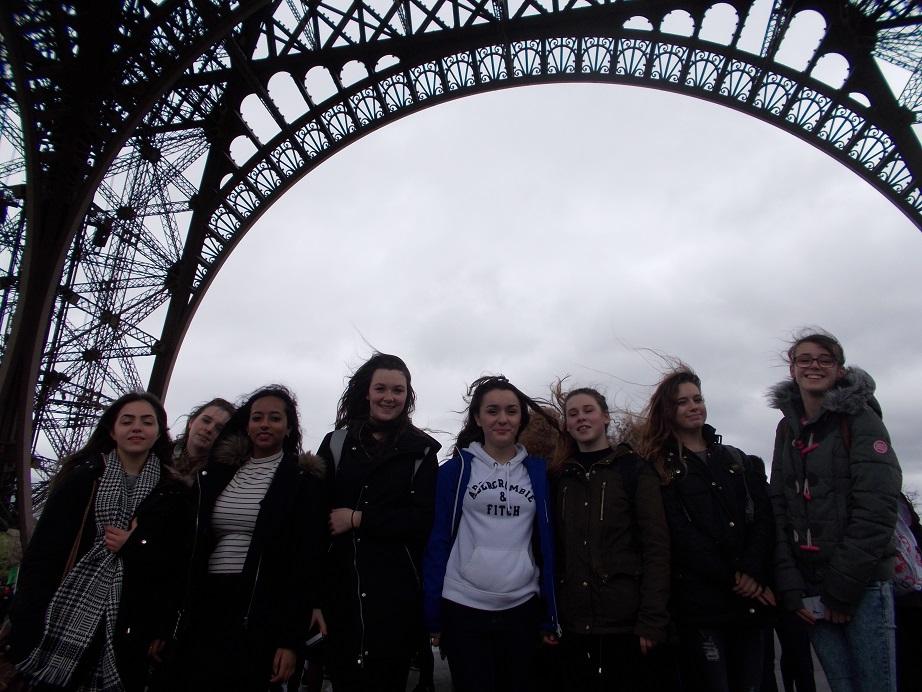 Under the Eiffel Towe