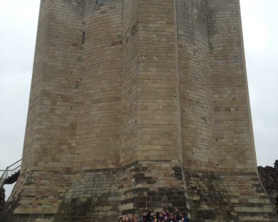 Year 7 History visit to Conisbrough castle