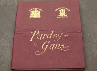 Purdey Gun Instructions & Maintenence Book