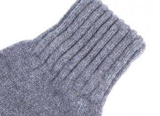 Barbour Lambswool Gloves – Grey