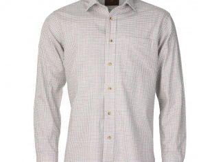 Laksen Alex Cotton/ Wool Shirt – Green, Blue & Red