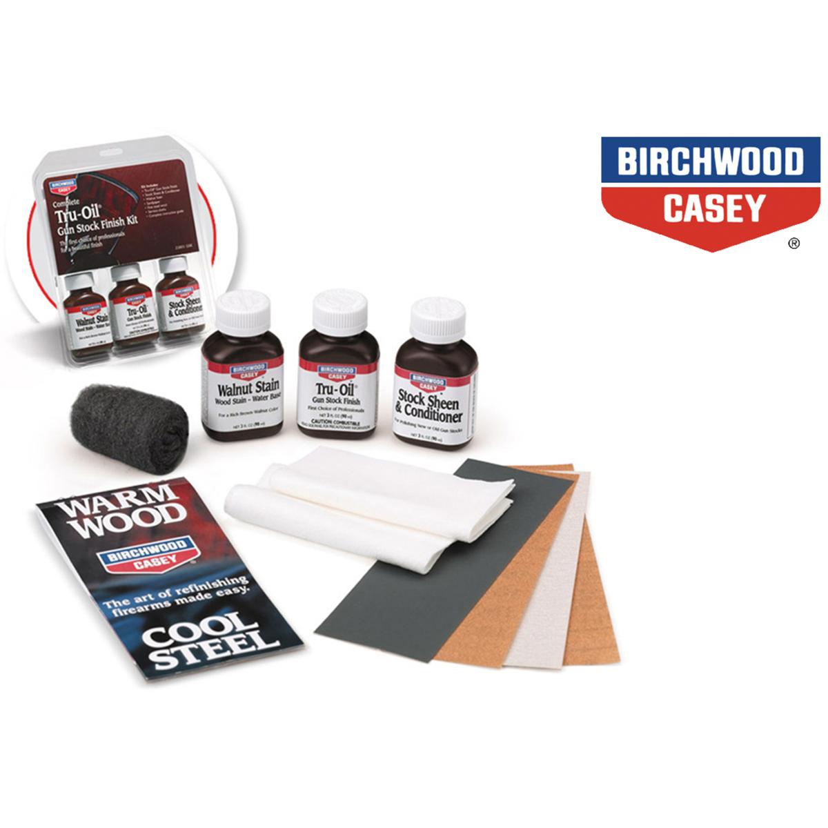 Birchwood Casey Complete Tru Oil Gunstock Finish Kit