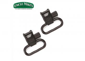 Uncle Mike's QD Tri-Lock Sling Swivels 1″