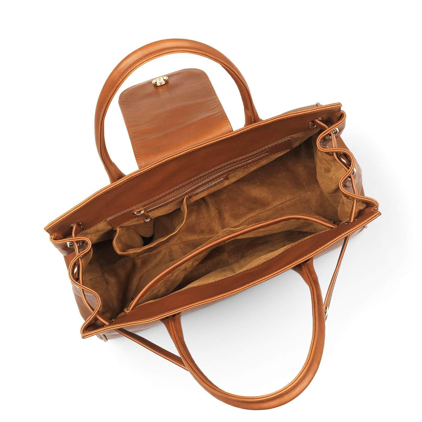 Fairfax & Favor – The Windsor Handbag – Tan Leather