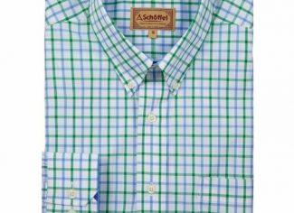 Schoffel Holkham Classic Shirt – Green