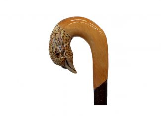 Hand Carved Walking Stick – Partridge