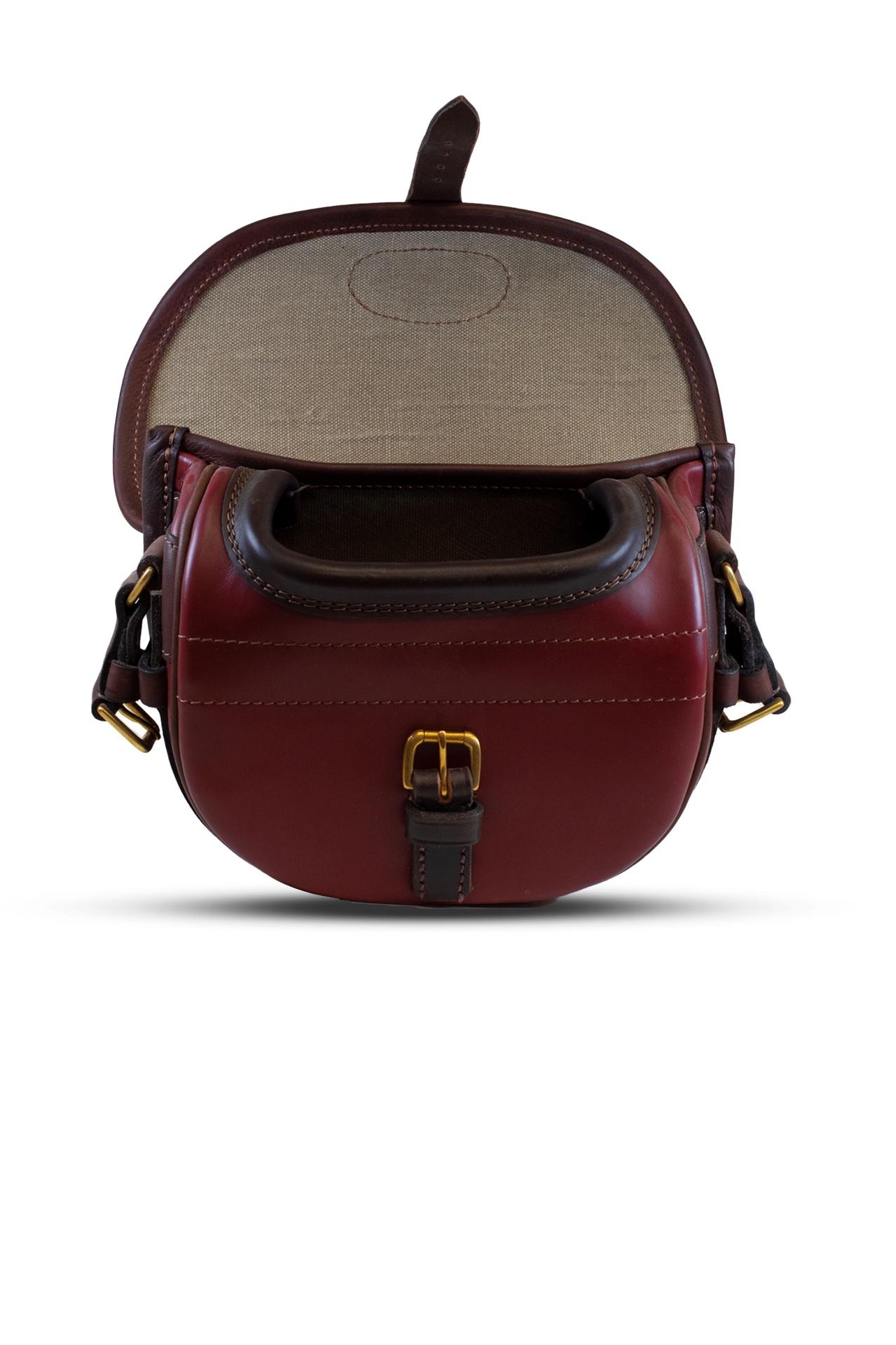 Best Leather Cartridge Bag (100) – Dark Red