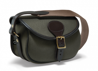 Croots Rosedale Canvas & Leather Cartridge Bag (150) – Various Colours