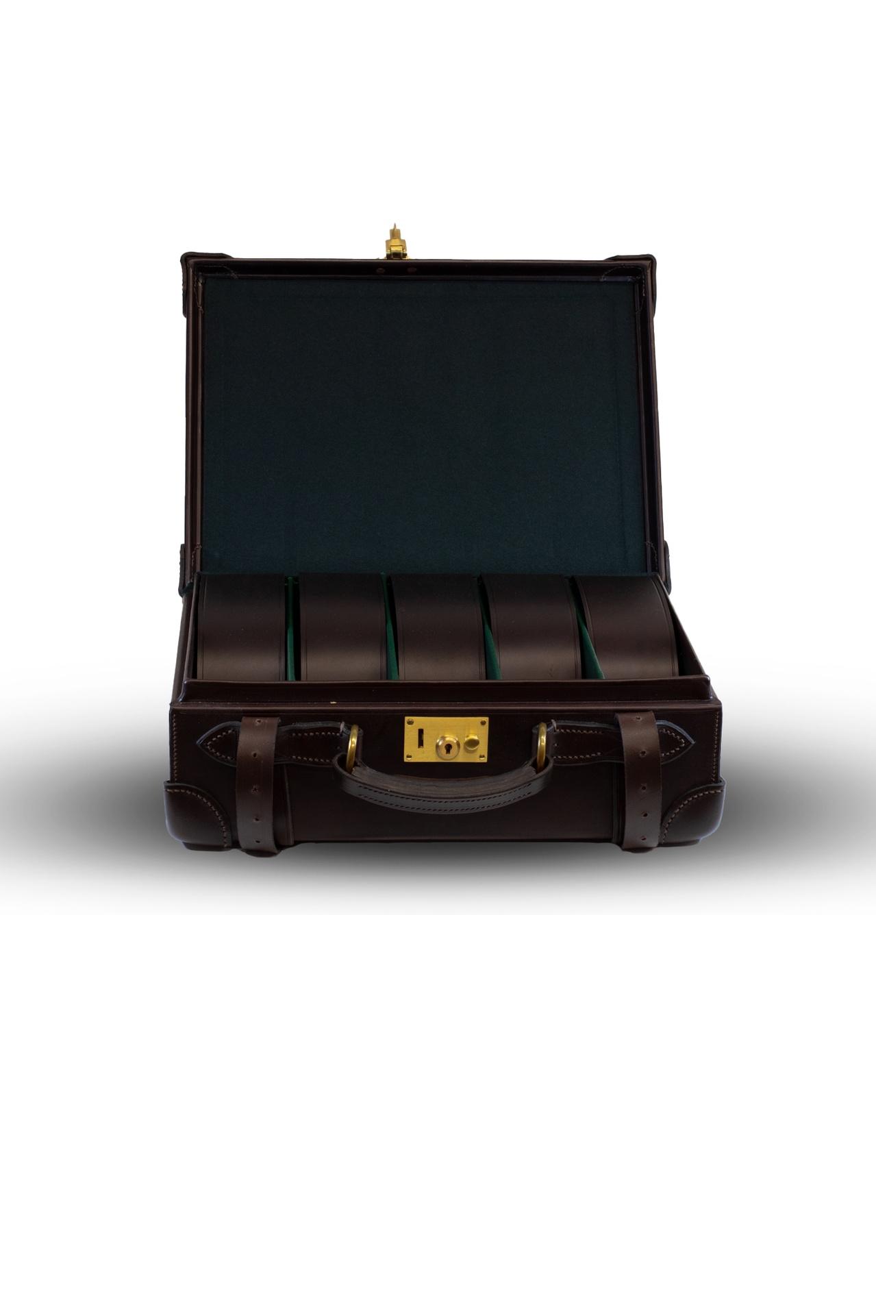 Best Lightweight Leather Cartridge Magazine (250) – Dark Brown