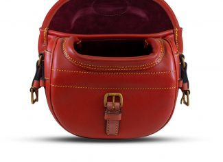 Best Leather Cartridge Bag (100) – Red Tan