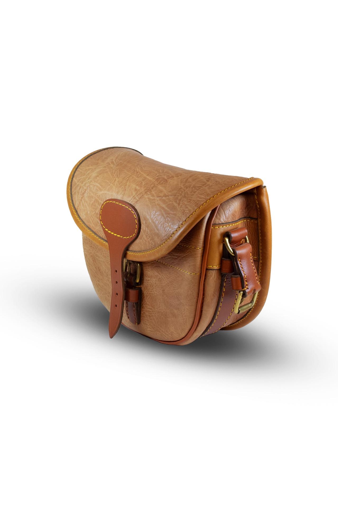 Best Leather Cartridge Bag (100) – Light Tan