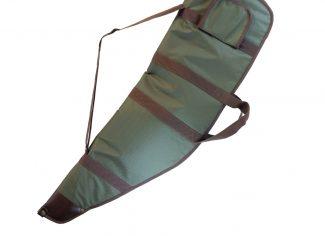 Raytex Extra Deep Rifle Slip – Green with Brown Trim