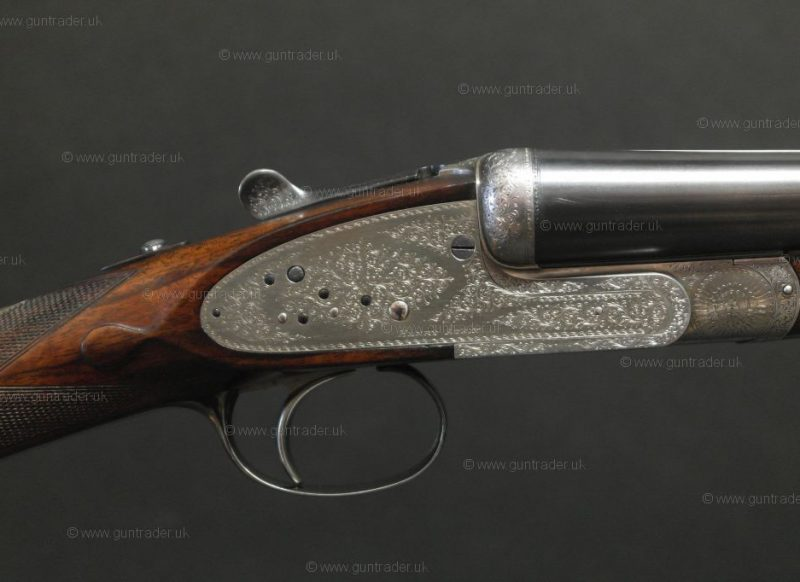 Atkin, Henry 12 gauge Sidelock Ejector Single Trigger (The Raleigh)